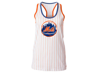 New York Mets 5th & Ocean MLB Women's Pinstripe Tank