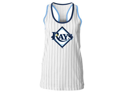 Tampa Bay Rays 5th & Ocean MLB Women's Pinstripe Tank