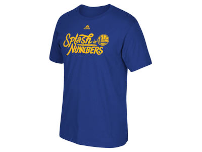 Golden State Warriors adidas NBA Men's Splash In Numbers T-Shirt