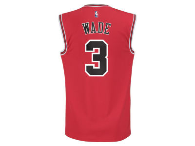 Chicago Bulls Dwyane Wade adidas NBA Rev 30 Replica Jersey