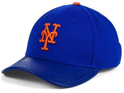 0c1ef2700 New York Mets Pro Standard MLB Premium TC Curve Strapback Cap