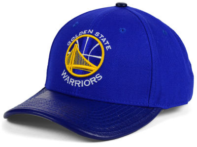 Golden State Warriors Pro Standard NBA Premium TC Curve Strapback Cap