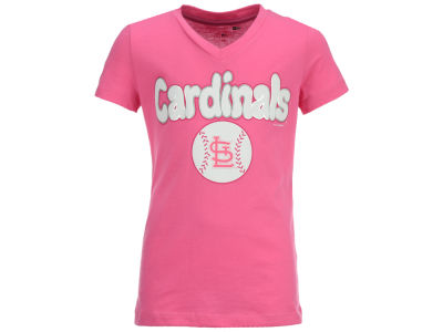 St. Louis Cardinals MLB Girls Retro Inspo T-Shirt