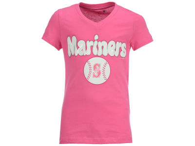 Seattle Mariners MLB Girls Retro Inspo T-Shirt