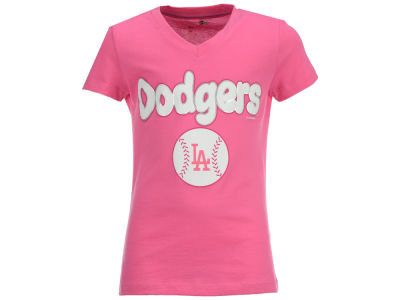 Los Angeles Dodgers MLB Girls Retro Inspo T-Shirt