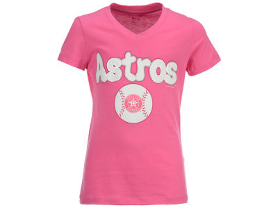 Houston Astros 5th & Ocean MLB Girls Retro Inspo T-Shirt
