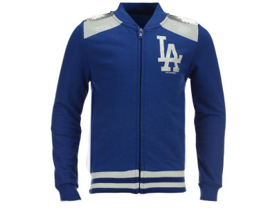 Los Angeles Dodgers 5th & Ocean MLB Girls Sequin Zip Up Jacket