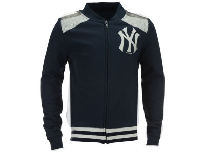New York Yankees MLB Girls Sequin Zip Up Jacket