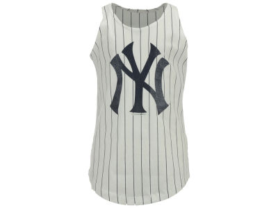New York Yankees 5th & Ocean MLB Girls Youth Pinstripe Tank