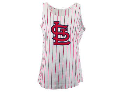 St. Louis Cardinals MLB Girls Youth Pinstripe Tank