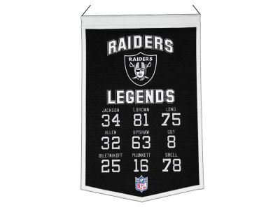 Oakland Raiders Legends Banner 14x22