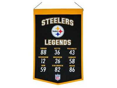 Pittsburgh Steelers Legends Banner 14x22