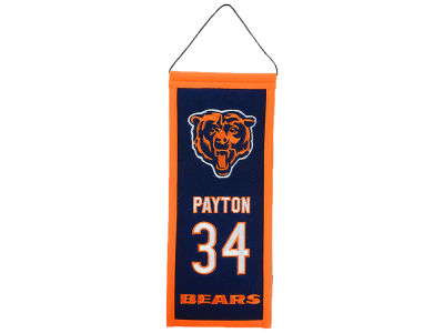 Chicago Bears Walter Payton Legacy Banner 6x15