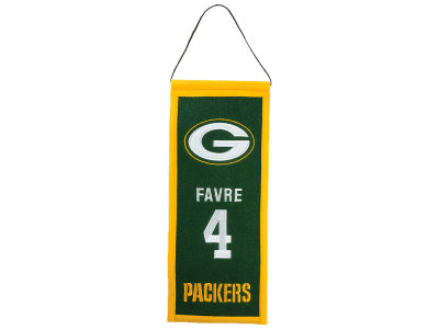 Green Bay Packers Brett Favre Legacy Banner 6x15