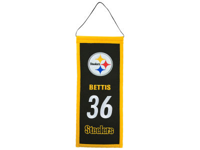 Pittsburgh Steelers Jerome Bettis Winning Streak Legacy Banner 6x15