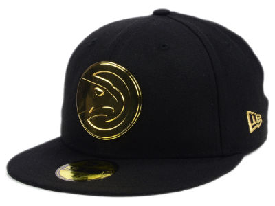 Atlanta Hawks New Era NBA Current O'Gold 59FIFTY Cap