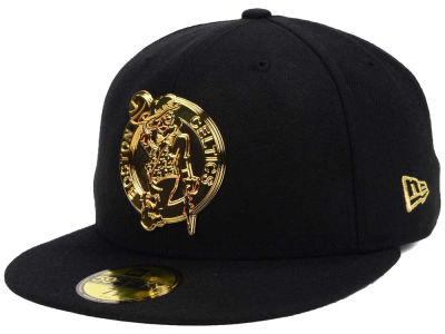 Boston Celtics New Era NBA Current O'Gold 59FIFTY Cap