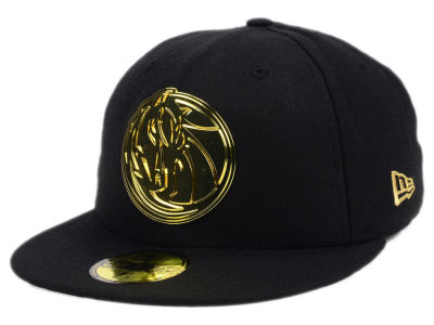 Dallas Mavericks New Era NBA Current O'Gold 59FIFTY Cap