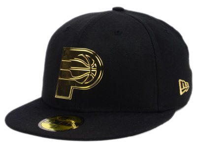 Indiana Pacers New Era NBA Current O'Gold 59FIFTY Cap