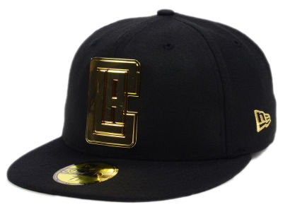 Los Angeles Clippers New Era NBA Current O'Gold 59FIFTY Cap