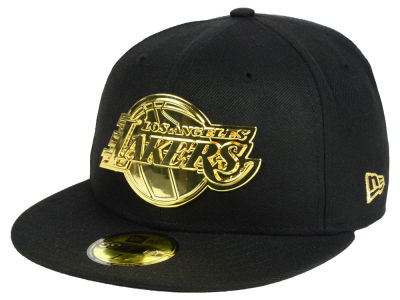 Los Angeles Lakers New Era NBA Current O'Gold 59FIFTY Cap
