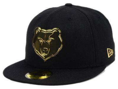 Memphis Grizzlies New Era NBA Current O'Gold 59FIFTY Cap