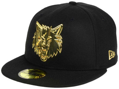 Minnesota Timberwolves New Era NBA Current O'Gold 59FIFTY Cap