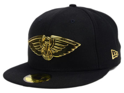 New Orleans Pelicans New Era NBA Current O'Gold 59FIFTY Cap
