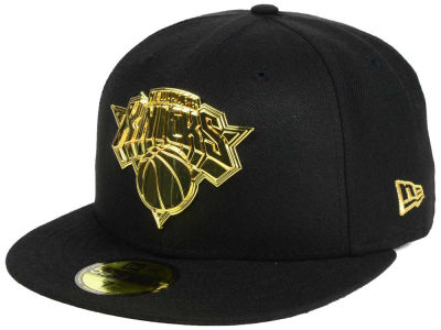 New York Knicks New Era NBA Current O'Gold 59FIFTY Cap