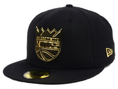 Sacramento Kings New Era NBA Current O'Gold 59FIFTY Cap