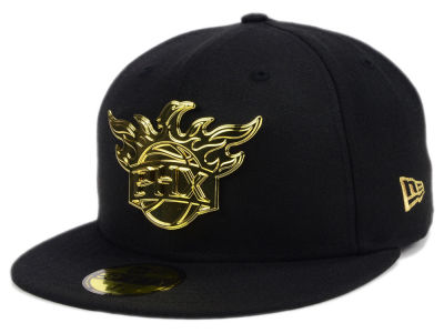 Phoenix Suns New Era NBA Current O'Gold 59FIFTY Cap