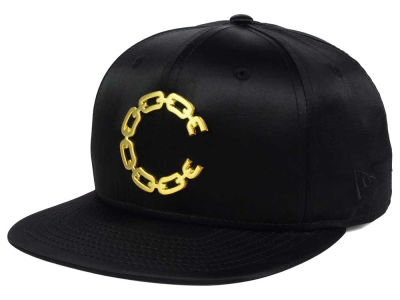 Crooks & Castles Satin Thuxury Chain C Strapback Cap