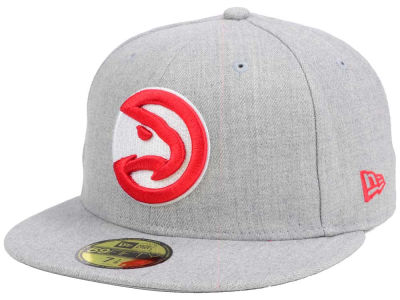 Atlanta Hawks New Era NBA All Heather 59FIFTY Cap