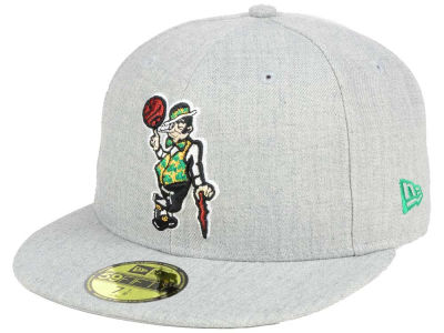 Boston Celtics New Era NBA All Heather 59FIFTY Cap