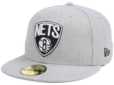 Brooklyn Nets New Era NBA All Heather 59FIFTY Cap