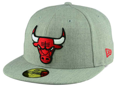Chicago Bulls New Era NBA All Heather 59FIFTY Cap