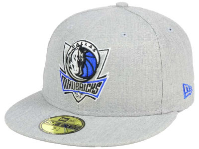Dallas Mavericks New Era NBA All Heather 59FIFTY Cap
