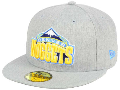 Denver Nuggets New Era NBA All Heather 59FIFTY Cap