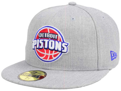 Detroit Pistons New Era NBA All Heather 59FIFTY Cap