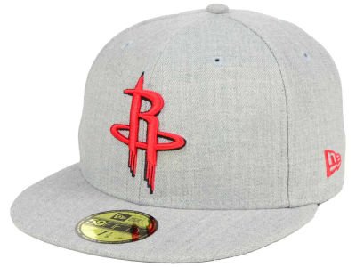 Houston Rockets New Era NBA All Heather 59FIFTY Cap