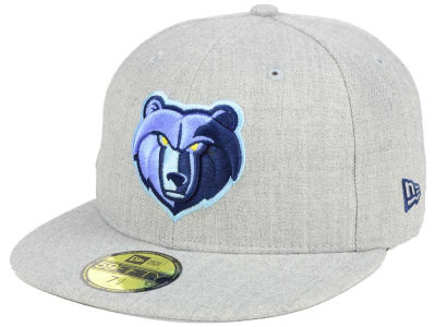 Memphis Grizzlies New Era NBA All Heather 59FIFTY Cap