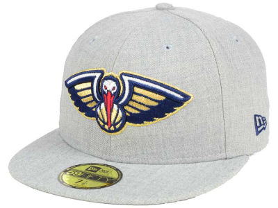 New Orleans Pelicans New Era NBA All Heather 59FIFTY Cap