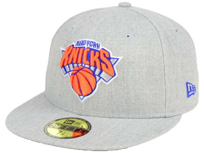 New York Knicks New Era NBA All Heather 59FIFTY Cap