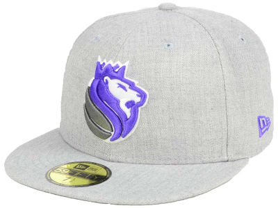 Sacramento Kings New Era NBA All Heather 59FIFTY Cap