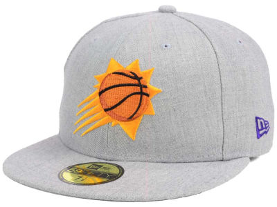Phoenix Suns New Era NBA All Heather 59FIFTY Cap