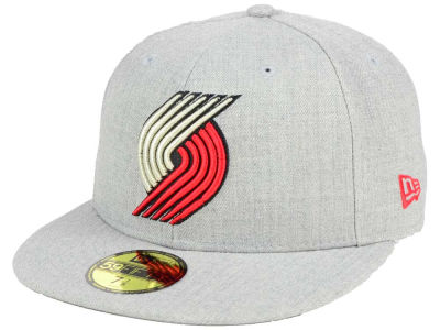 Portland Trail Blazers New Era NBA All Heather 59FIFTY Cap