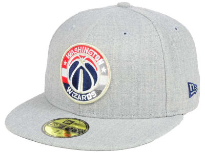 Washington Wizards New Era NBA All Heather 59FIFTY Cap