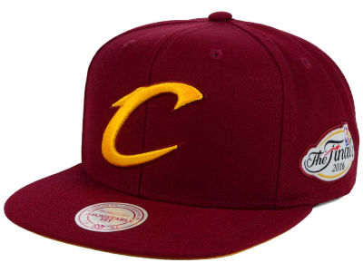 Cleveland Cavaliers Mitchell and Ness NBA Champ Tonal N Gold Snapback Cap