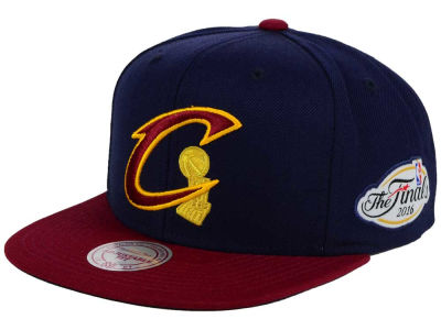 Cleveland Cavaliers Mitchell and Ness NBA Trophy Champ Snapback Cap