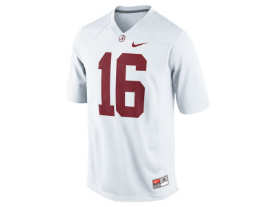 Alabama Crimson Tide #16 Nike NCAA Replica Football Game Jersey